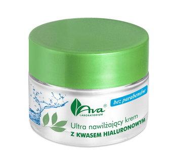 AVA, ultra nawilżający krem z kwasem hialuronowym, 50 ml-AVA