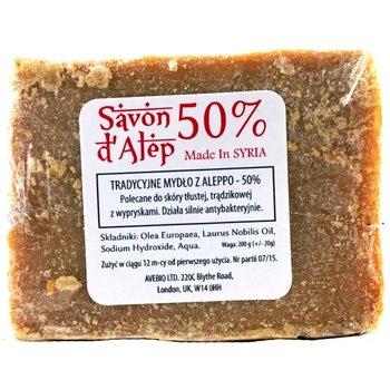 Avebio, mydło aleppo 50%, 200 g-AVEBIO