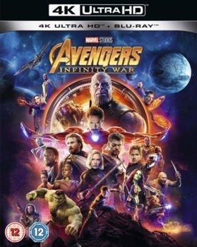 Avengers: Infinity War (brak polskiej wersji językowej)-Russo Joe, Russo Anthony