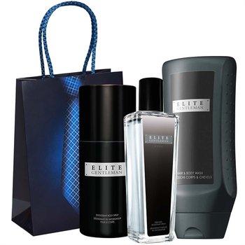 Avon, Elite Gentleman, zestaw kosmetyków, 3 szt. + torebka prezentowa-AVON