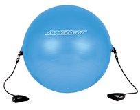 Axer Fit, Piłka gimnastyczna z uchwytami, 65 cm