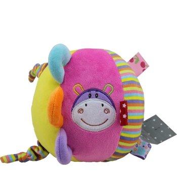 Axiom, piłka z grzechotką New Baby Hipopotam-Axiom