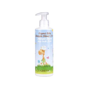 Azeta Bio, Organiczny płyn do mycia ciała i włosów dla dzieci, 200 ml-Azeta Bio