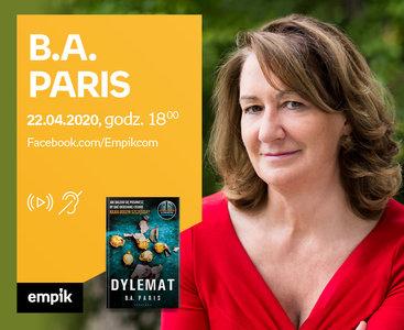 B.A. Paris - PREMIERA ONLINE