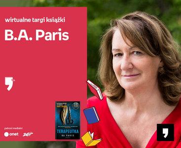 B.A. Paris – PREMIERA | Wirtualne Targi Książki