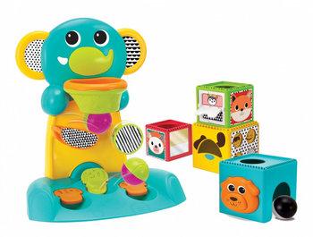 B-Kids, zabawka interaktywna Słonik Koszykówka z Klockami, zestaw -B-Kids