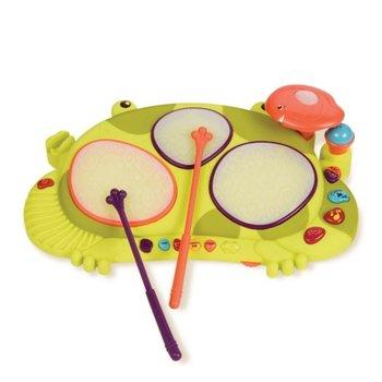 B.Toys, instrument muzyczny Żaba RIBBIT-TAT-TAT-B.Toys