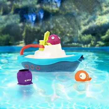 B. Toys, zabawka do kąpieli Kuter z akcesoriami-B.Toys