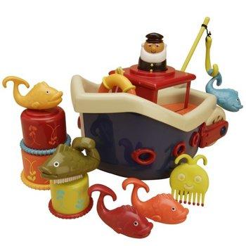 B.Toys, zabawka do kąpieli Statek, zestaw-B.Toys