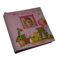 Baby Album, Album na 200 zdjęć 10x15 cm, różowy