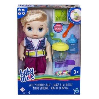 Baby Alive, lalka Słodka Przekąska Blondyn-Baby Alive