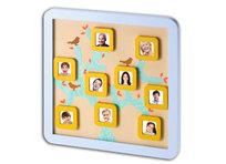 Baby Art, Drzewno genealogiczne z naklejkami i magnesowymi ramkami na zdjęcia