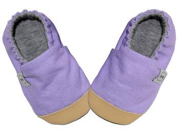 Baby Bisous,Kapcie dziecięce, Lavender, rozmiar 27-Baby Bisous
