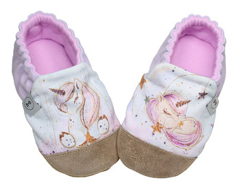 Baby Bisous, Kapcie dziecięce Sweet Unicorn, rozmiar 18-Baby Bisous