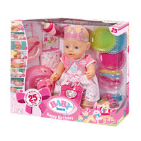 Baby Born, lalka interaktywna Happy Birthday