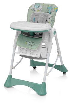 Baby Design, Krzesełko do karmienia, Pistacjowy/Biały-Baby Design