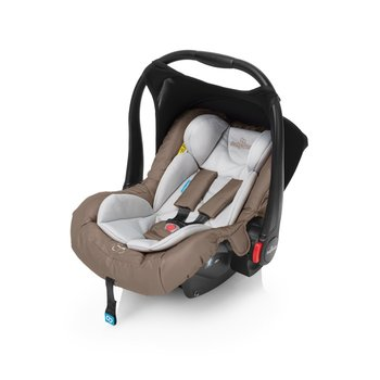 Baby Design, Leo, Fotelik samochodowy, 0-13 kg, Beige-Baby Design