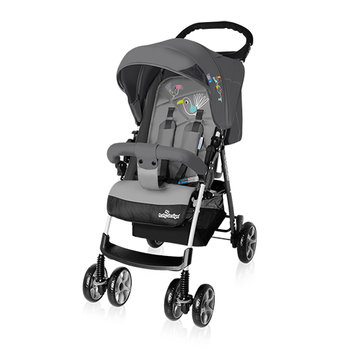 Baby Design, Mini New, Wózek spacerowy, Gray - Baby Design