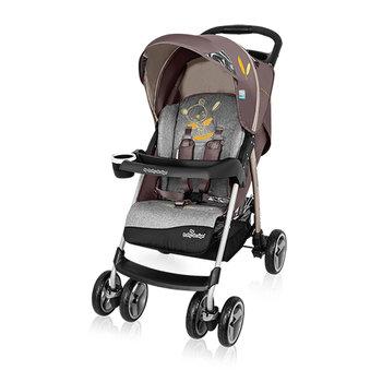 Baby Design, Walker Lite, Wózek spacerowy, Brown-Baby Design