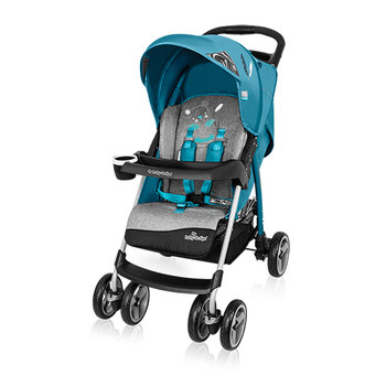 Baby Design, Walker Lite, Wózek spacerowy, Turquoise-Baby Design