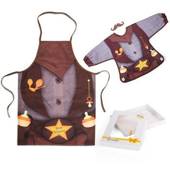 Baby Gadgets, Baby Sheriff, Śliniak i fartuch -Baby Gadgets