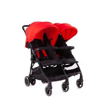 Baby Monsters, Kuki Twin, Wózek bliźniaczy, Czerwony-Baby Monsters