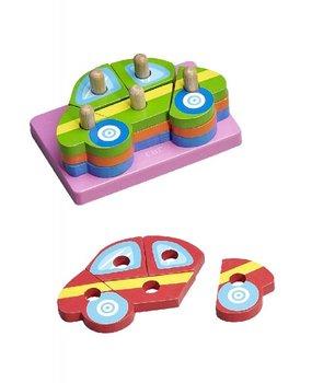 Baby&More, klocki drewniane Samochody-Baby&More