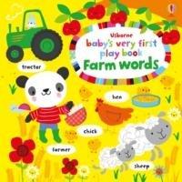 Baby's Very First Play Book Farm Words-Watt Fiona