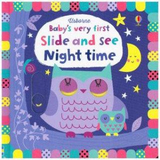 Baby's Very First Slide and See Night Time - Watt Fiona