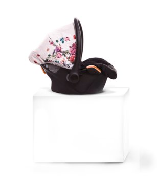 BabyActive, Fotelik samochodowy / Nosidełko, Kite, Dark Light Rose, 0-13 kg-BabyActive