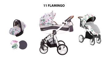 BabyActive, Mommy Flamingo, Wózek wielofunkcyjny, 3w1-BabyActive