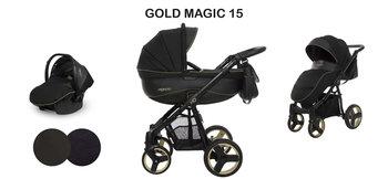 BabyActive, Mommy Gold Magic no. 15, Wózek wielofunkcyjny, 3w1-BabyActive