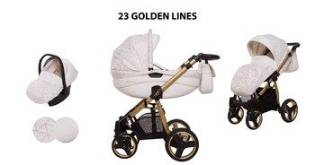BabyActive, Mommy Golden Lines, Wózek wielofunkcyjny, 3w1-BabyActive