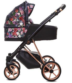 BabyActive, Musse, Wózek głęboko-spacerowy, Dark Rose, 2w1-BabyActive