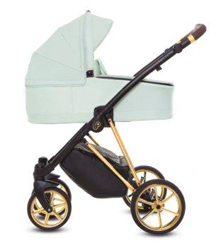 BabyActive, Musse, Wózek wielofunkcyjny, Ultra Mint, 2w1-BabyActive