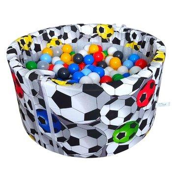 BabyBall, suchy basen z kulkami - 350 sztuk - Piłki 3D-BabyBall