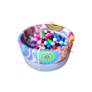 BabyBall, suchy basen z kulkami Kalejdoskop, 200 szt. piłeczek-BabyBall