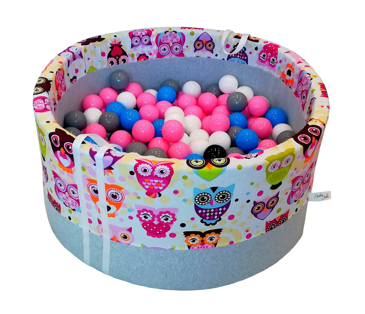 BabyBall, suchy basen z piłeczkami - BabyBall