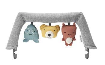 BabyBjorn, Pałąk zabawka do leżaczka Balance, Soft Friends-BabyBjorn