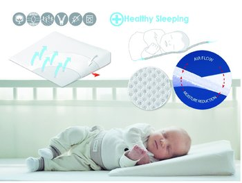 BabyMatex, Aeroklin, Poduszka dla niemowląt, 36x60 cm-Babymatex