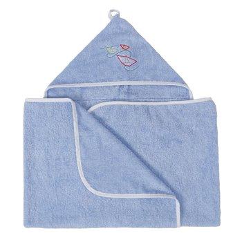 BabyMatex, Maxi Junior, Kąpielowe okrycie niemowlęce, 70x140 cm, Niebieski-Babymatex