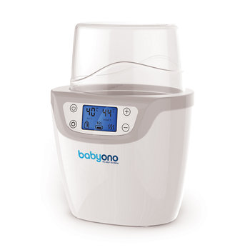 BabyOno, Natural Nursing, Podgrzewacz do butelek LCD z funkcją sterylizacji, 2w1-BabyOno