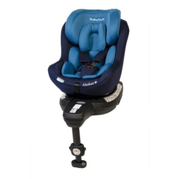 BabySafe, Alaskan 360, Fotelik samochodowy, 0-18 kg, Blue-BabySafe