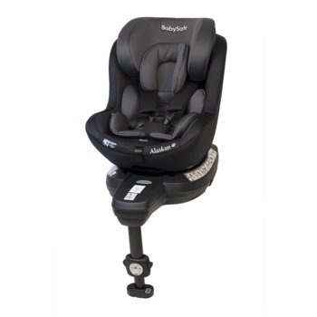 BabySafe, Alaskan 360, Fotelik samochodowy, 0-18 kg, Grey/Black-BabySafe