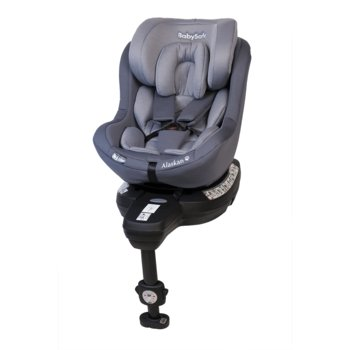 BabySafe, Alaskan 360, Fotelik samochodowy, 0-18 kg, Grey-BabySafe