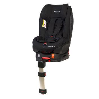 BabySafe, Schnauzer, Fotelik samochodowy, 0-18 kg, Czarny