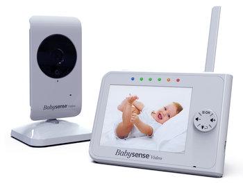 """BabySense, V35, Elektroniczna video niania, Monitor 3,5""""-BabySense"""