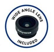 Babysense - wymienne soczewki do kamery V35 szeroki kąt i zoom optyczny