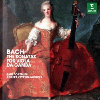 Bach: 3 Sonatas For Cello And Harpsichord-Tortelier Paul, Veyron-Lacroix Robert