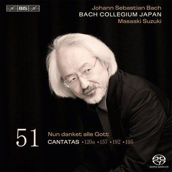Bach: Cantatas. Volume 51: BWV 195, 192; 157; 120a-Bach Collegium Japan, Blazikova Hana, Guillon Damien, Genz Christoph, Kooij Peter